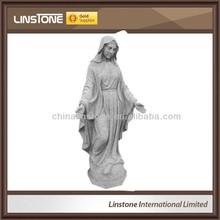 nouveau style statue en marbre blanc du dieu hindou ganesh