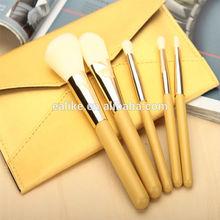 EALIKE yellow makeup brushes,eye shadow makeup brush