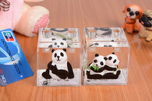Panda Shape Crystal Pen Holder For Wedding Favors & Birthday Gifts