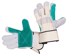 Cow leather safety and industrial gloves