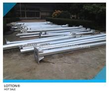 Galvanized steel pole,electric pole,street light pole