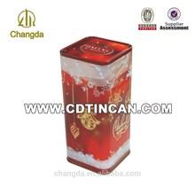 Alibaba manufacture wholesale airtight metal tin box item:CD - 197