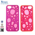 Veaqee funny translucence hot pc+tpu phone case for samsung galaxy s4