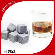 7 fratelli non tossico e riciclare naturale in pietra ollare whisky pietre cubetti di ghiaccio artificiale
