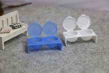 New Double Lips Dappen Dish Nail Art Design Acrylic Liquid Powder Mixing