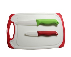 Kitchen Chopping Board and Knife