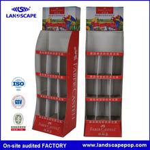 Carta espositore circolare/cartone riciclato espositore/circolare espositore carta