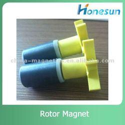 ferrite radial rotor magnet d19x30mm