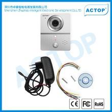 ACTOP cat 5 wifi apartment viewer door bell,support APP on smart phone
