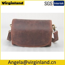 High Quality Unique Fashion Design First Layer Cowhide Real Leather Bag for Lady