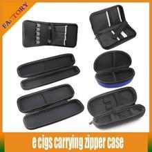 Wholesale price e-cigarette ego case ecig zipper case ecig carry case