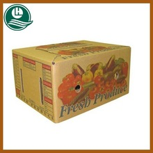 Recycle customed cardboard boxes vegetables fruit