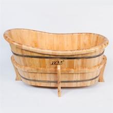 Kangxi wooden barrel bath tub spa bathtub