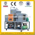 la separación de todo el gas de agua y las impurezas purificar el aceite de la máquina