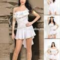 2015 branco sexy deusa grega fantasias para a deusa grega vestido curto