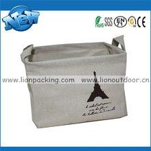 Good quality best selling branded linen bag full printed