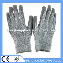 superior performance high modulus Knife Resistant Gloves level 5 working gloves for glass handing