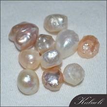 In bulk sale medicine original freshwater loose undrilled pearls
