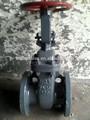 Gost válvula de puerta ( con bridas, Py25, Fundido a presión de acero )