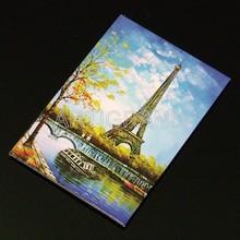 Custom coated art paper fridge magnets