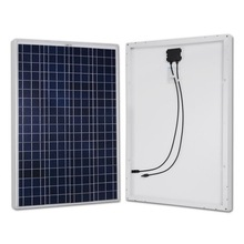 Polycrystalline Photovoltaic PV solar panel 100W 12V Battery Charger