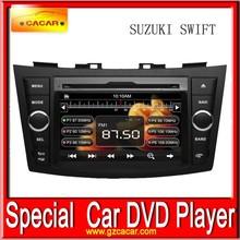7 inch touch screen best navigation gps dvd for Suzuki Swift 2012 car video dvd player high quality