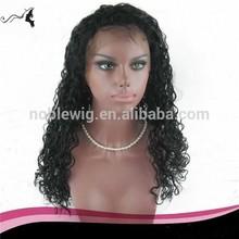 22 inch fashion curly brazilian hair wigs for bald women