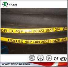 Hot selling DIN EN Stardards rubber hosehydraulic brake hose