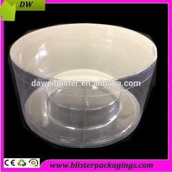 Transparent Plastic Pvc Packaging Tubes