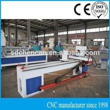 Cylinder Wood CNC Turning Carving Machine