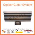 """6"""" canal de cobre--- la mitad de la ronda de cobre/de aluminio canal& bajada de agua del sistema"""