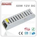60w costante tensione di 5 bis alimentazione 12v circuito per luci a led