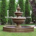 polyresin artificial productos moderno portátil de flujo de agua de la fuente al por mayor