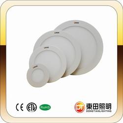 2014 super bright wholesale price 85-265v 18w ultra thin round led panel light