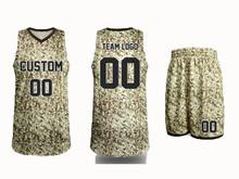 best camouflage camo basketball uniform