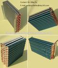 Condenser and evaporator for home dehumidifier