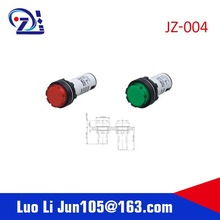 16mm point self return led button switch