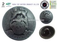 20mm special design doom shape metal alloy free sample button