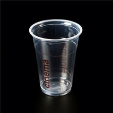 pet cups with dome lid/ clear pp plastic cups/ 4oz plastic cups