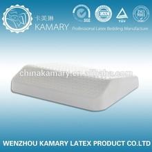 comfortable natural latex car pillow for lumbar