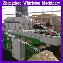 2014 new design professional wood shaving machine for corn straw