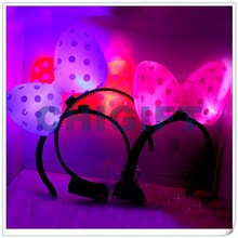 Halloween Decoration Plastic LED Butterfly