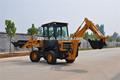 7 ton carregadeira retroescavadeira escavadeira de rodas/retroescavadeira jcb semelhante com baixo preço