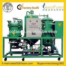 Light fuel oil purifer/diesel oil filtering machine / Engine oil regeneration plant