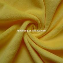 100%polyester short pile flat microfiber super soft toy fleece fabric
