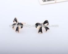 Gold earring post, top design earring, earring earbuds