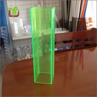 Colored Plexiglass Square Pipe