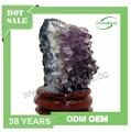 Profesional Oriental de muestras de minerales, Racimo de amatista, Amethyst Geode de piedras preciosas de la decoración