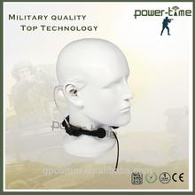 Military PRC-117 Throat MIC Air Tube Headset