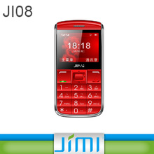 JIMI Hot Sell Senior big numbers mobile phones 2.4Inch colored HD Display and SOS Emergency button for Elderly